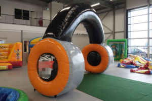 Giant Advertising Headset Inflatable Headset for Sale pictures & photos