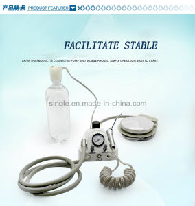 Plastic Portable Dental Unit with Syringe (8-04) pictures & photos