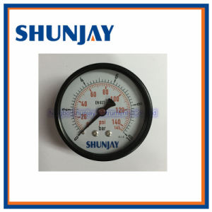 High Quality Brass Internal Carbon Steel Dry Economy Pressure Gauge pictures & photos