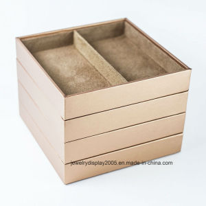 Stackable Jewelry Trays Organizer Storage Rings Earrings Bracelets Watches Necklaces pictures & photos