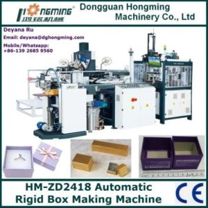 Hm-Zd2418 Automatic Rigid Box Maker (HM-ZD2418)