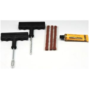 Trainshow Tire Repair Kits - 28 Plug Strings, T-Handle and Cement pictures & photos