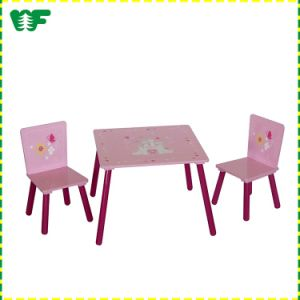 Cartoon Cute Table and Chair Set High Quality Wooden Kids Table and Chair Set pictures & photos