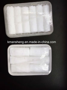Professional Airline Disposable Tray Packing Wet Towel Manufacturer pictures & photos