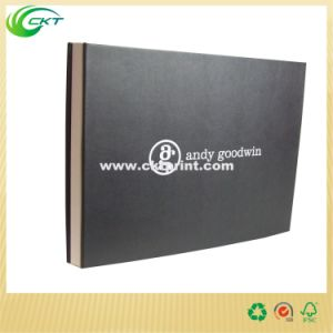 Gold Emboss Leather Bound Book Printing (CKT-BK-535) pictures & photos