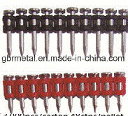 Gas Plastic Collated Concrete Nail Pin pictures & photos