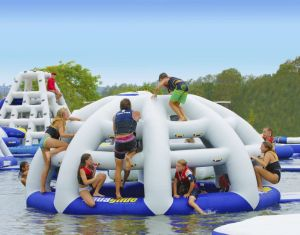 Inflatable Thunderdome Climbing Wall Water Toy pictures & photos