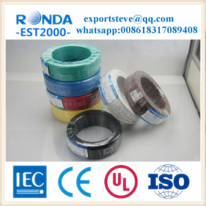 0.75 1 1.5 2.5 4 PVC insulation flexible electric wire pictures & photos