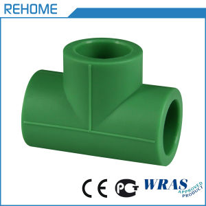 DIN8077 Water Supply Pipe PPR Fitting Tee pictures & photos