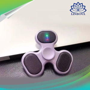 Colorful LED Light Three Wheel Bearing Hand Finger Toy Spinner pictures & photos