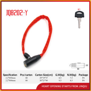 Safety Anti-Theft Steel Cable Lock pictures & photos