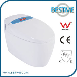 Water Saving Intelligent Toilet Seat Automatic Flush Colored Toilet (BC-616B) pictures & photos