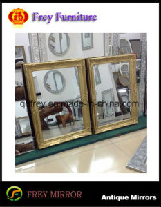 Antique Design Gold Wall Mirror Frame for Hotel pictures & photos