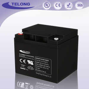 Manufacturer Solar Deep Cycle AGM Battery 12V45ah for Power System pictures & photos
