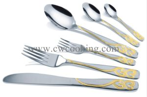 12PCS/24PCS/72PCS/84PCS/86PCS Stainless Steel High Class Flatware Cutlery Tableware (CW-CYD851) pictures & photos