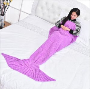 Portable Home Use Comfortable Mermaid Baby Blanket pictures & photos