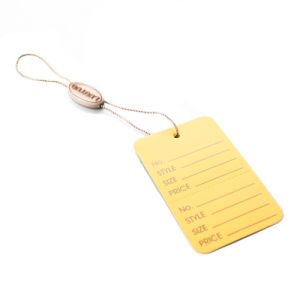 [Sinfoo] Plastic String Hang Seal Tag (DL53-4) pictures & photos