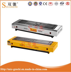 Easy Operation and High Quality Double Electric BBQ Grill Sc-D9 pictures & photos