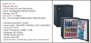 Ce/CB/GS Certified Single Door Absorption Refrigerator 50L pictures & photos