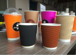 Double Layer Paper Cup Sleeve Machine pictures & photos