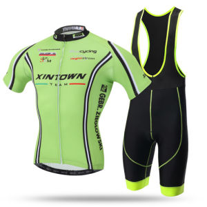China Short Sleeves Sublimation Bicycle Wear Cycling Jersey and Pants, Cycling Sets pictures & photos