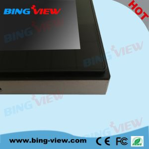 "17""Multiple Touch Projective Capacitive Touch Screen Monitor for Commercial Kiosk pictures & photos"