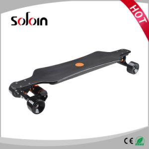 Remote Control Mobility Scooter Carbon Fiber 4 Wheel Electric Skateboard (SZESK005) pictures & photos