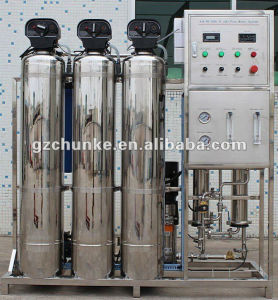 500L/H Ss/FRP Reverse Osmosis Pure Water Filter Treatment Equipment pictures & photos