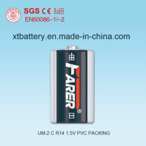 1.5V Farer Super Heavy Duty Dry Battery (R14 Um-2, C) pictures & photos