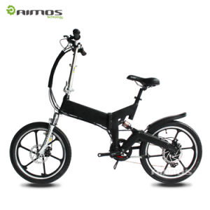 Folding Portable Fat Tire Electric Bicycle 20inch pictures & photos