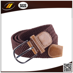 Wholesale Casual Canvas Stretch Braided Elastic Belt (HJ5113)