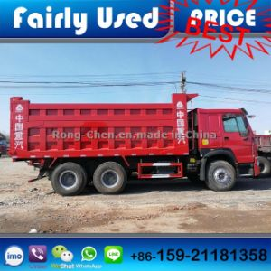Used Construction Equipment Sinotruck HOWO Dump Truck 6*4