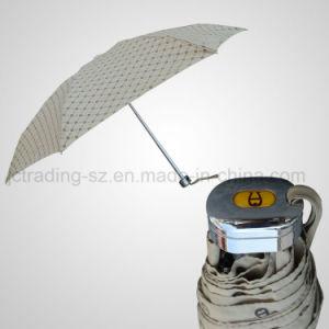 5 Folding Mini Manual Umbrella Pocket Umbrella Promotional Umbrella (JF-MAG503) pictures & photos