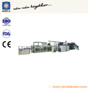 Economic Type Baby Diaper Pull up Pants Machine pictures & photos