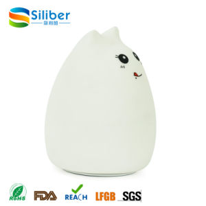 Colorful Changing Animal Silicone Lamp LED Night Light pictures & photos