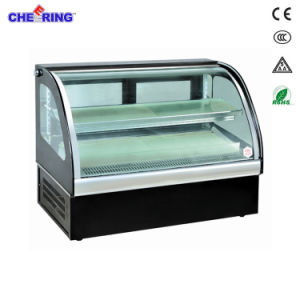 Counter-Top Cake Cabinet Display Refrigerator Showcase pictures & photos