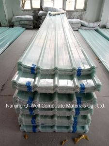 FRP Panel Corrugated Fiberglass/Fiber Glass Roofing Panels 171001 pictures & photos