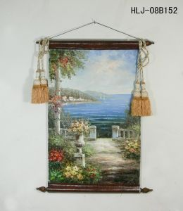 Seaside Garden Pattern Home Decorative Canvas Hanging Painting pictures & photos