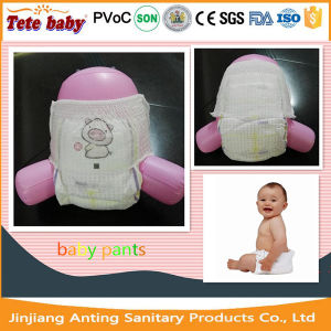 OEM Hot Sale Disposable Baby Diaper Pants pictures & photos