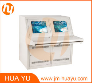 Sheet Metal Fabricated Cabinet/Enclosure for Console Board/Desk pictures & photos
