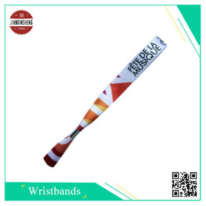 Fabric Satin Sublimation Wristbands for Festival pictures & photos