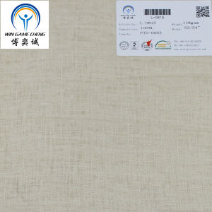 21*21 100% Linen Fabric pictures & photos