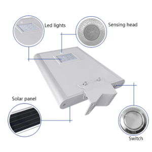 8W All in One LED Solar Street Lights pictures & photos