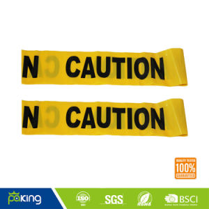 Eco-Friendly PVC Material Police Caution Tape in Red and White Color pictures & photos