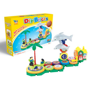B/O Building Block DIY Bricks with Music (H9020030) pictures & photos
