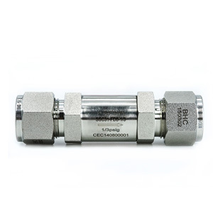 Control Adjustable Cracking Pressure Check Valve pictures & photos