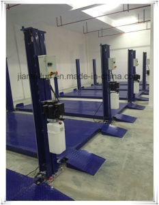 Hydraulic Four Post 8000lbs Parking Car Lift pictures & photos