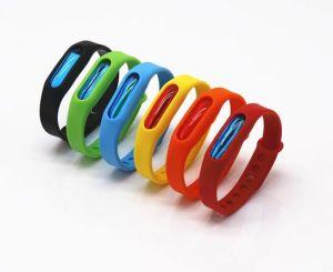 Custom Design Colorful Silicone Children Mosquito Repellent Wristband