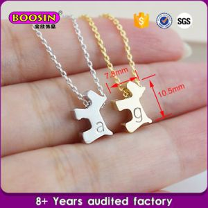 Custom Wholesale Cheap Necklace with Dog Tag Charm pictures & photos