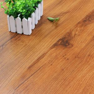 12mm HDF Brown Core Laminate Flooring with Waxed pictures & photos